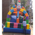 Kids Inflatable Sliding Bounce