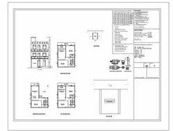 Architectural Municipal Drawings/ Passing Drawings