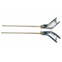 Titanium Left Right Laparoscopy Storz Curved Needle Holder