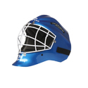 Mayor Blue & Black Hockey Carbon Fiber Helmet