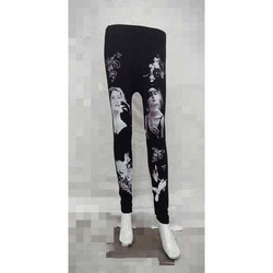 Trendy Printed Leggings