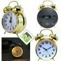 Vintage Alarm Clock (Gold)