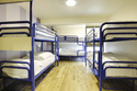 Hostel Metal Bunk Bed With Storage