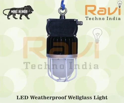 Industrial LED Well Glass Light, IP Rating: IP65