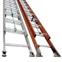 Wall Supported Extension Ladder