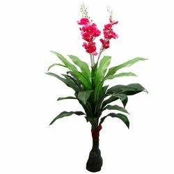 Artificial Plants Mini Orchid Plant, For Decoration, Packaging Size: 24 Pieces