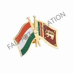 1025 Table Flag Badge