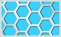 Hexagonal Metal Perforated Sheets