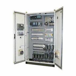 Single Phase Mild Steel Industrial PLC Control Panel
