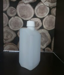 Natural HDPE Hand Sanitizer Bottle, Packaging Size: 500ml