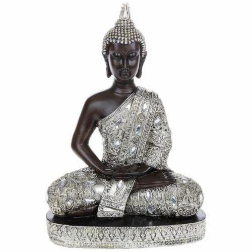 Meditative Thai Buddha Statue