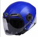 Super Thh T-314-blue-courage-matt Half Face Helmet