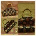 Printed Ladies Fancy Handle Bag