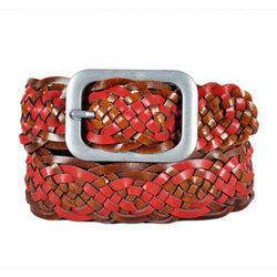 234789a52 Woven Leather Belts at Best Price in India