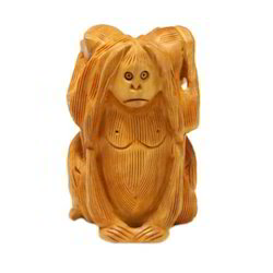 Small Wooden Monkey