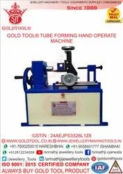 Gold Tool Iso 9001 2015 Jewelry Tube Forming Machine