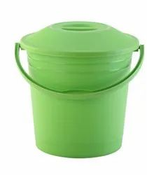 Plastic Bucket With Lid Frosty 16 Ltr