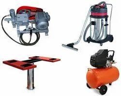 Car Washing Workshop Equipments