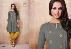 Tunic House Glorist Series 14008-14015 Stylish Party Wear Viscose Kurti