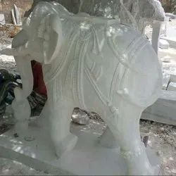 Elephant Carving Work