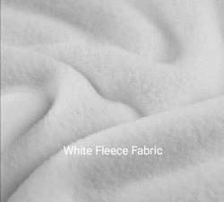 White Fleece Fabric