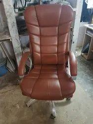 REGZINE Steel Base Revolving Boss Chair, Warranty: 1 Year, Revolving Chair: S