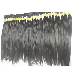 Bulk 100% Natural Bone Straight Hair