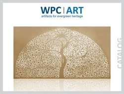 WPC CNC GRILLS ¿¿¿ A modern material for preserving heritage¿¿¿