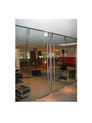 Glass Partition Frame Less Fitting