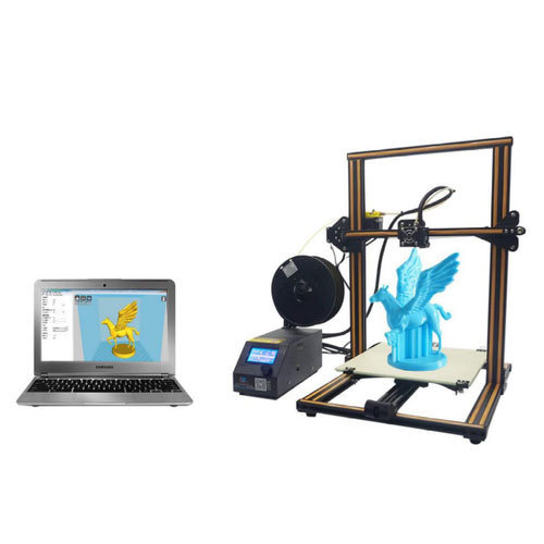 creality cr-10 3d printer, 3 dimensional printing machine, 3डी ...