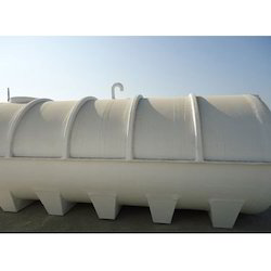 Horizontal Cylindrical FRP Water Tanks