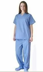 Blue Hospital Uniforms