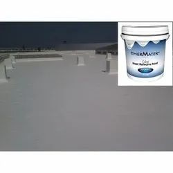 Ther Matek Cool Roof Heat Reflective Paint