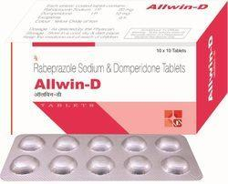 Allwin-d Rabeprazole Sodium Domperidone Tablets, Packaging Type: Box, Packaging Size: 10 x 10 Tablets