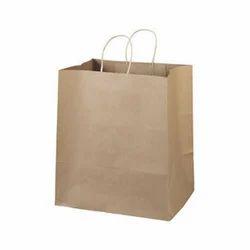 Brown Kraft Paper Bags, For Shopping, Capacity: 2kg