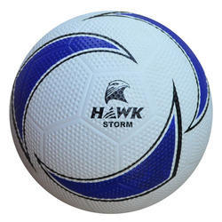 Rubber Molded Hawk Strom Football