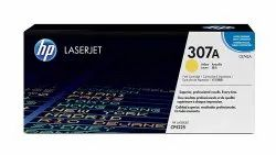 HP 307A Yellow Original LaserJet Toner Cartridge (CE742A)