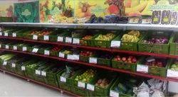 Supermarket Fruits and Vegetables Racks