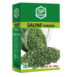 Sp Spices Saunf Powder, Packaging Size: 100g