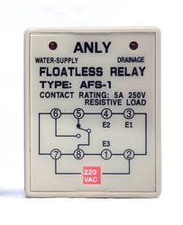 ANLY AFS-1 - Floatless Relay, 220VAC