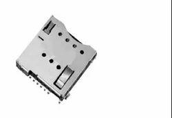 6 Pin Micro Push Sim Card Connector
