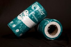 Embossed White Kitchen Paper Roll