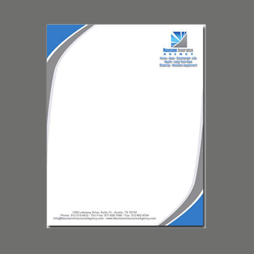 Business Letter Heads At Rs 15 /Piece | Office Stationery