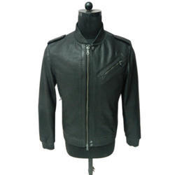 Full Sleeve Regular Fit Mens Designer Leather Jacket