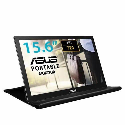 ASUS MB 168B -BK Monitor Display, Screen Size: 16 inch