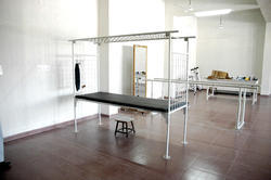 Manual Aluminium Suspension Bed With Frame