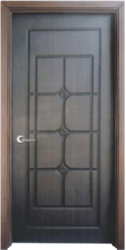 Simple Polished Wooden Doors