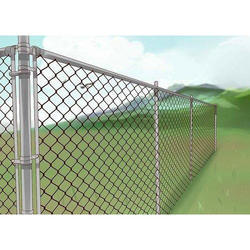 Park Chain Link Bounding Fencing