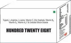 Trypsin L Arginine l Lysine Vit C Zinc Sulphate Vit B6 Vit D3 Vit K2-7 & Colloidal Silicon Dioxide