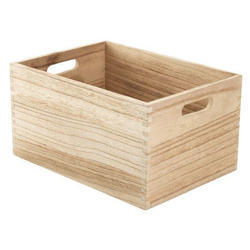 Wooden Rubber Wood Industrial Packaging Boxes, Size (inches): 800mm X 800 Mm